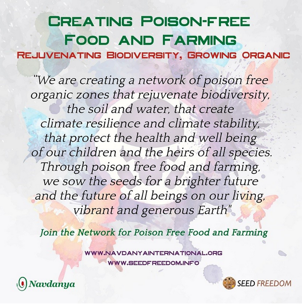 Pledge for Poison Free Food and Farming
