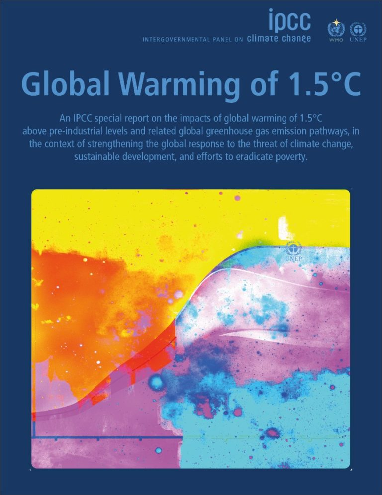Global Warming of 1.5°C