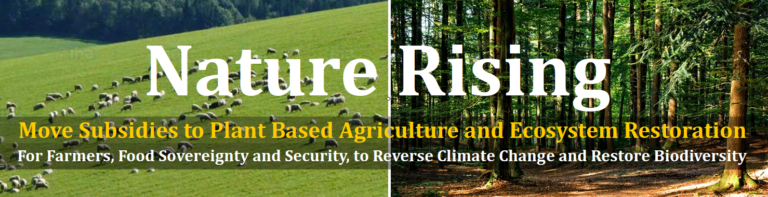 Nature Rising: The Campaign to End Subsidies for Animal Agriculture