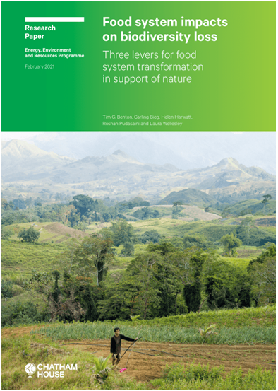 A Review of the Report: 'Food System Impacts on Biodiversity Loss'
